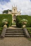 Kerk in historisch landgoed royalty-vrije stock foto's