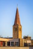 Kerk in Holland Stock Afbeelding