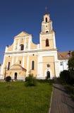 Kerk in Hrodna Stock Afbeeldingen