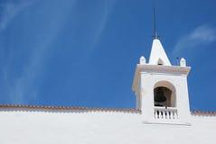 Kerk in Ibiza Royalty-vrije Stock Foto's