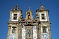 Kerk Igreja DE Santo Ildefonso, Porto, Portugal royalty-vrije stock afbeeldingen