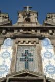 Kerk Igreja DE Santo Ildefonso, Porto, Portugal stock afbeeldingen