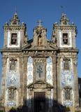 Kerk Igreja DE Santo Ildefonso, Porto, Portugal royalty-vrije stock foto