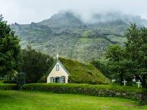 Kerk ijsland Royalty-vrije Stock Afbeelding