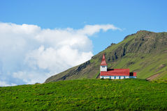 Kerk in IJsland Royalty-vrije Stock Foto