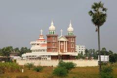 Kerk in India royalty-vrije stock afbeeldingen