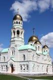 Kerk Ioann Predtechi in dorp Kultaevo. Royalty-vrije Stock Foto's