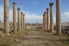 Kerk, Jerash Royalty-vrije Stock Foto's