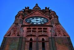 Kerk in Juwelenkwart Royalty-vrije Stock Foto's