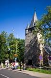 Kerk in Karpacz, Polen Stock Afbeelding