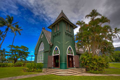 Kerk in Kauai, Hawaï Stock Fotografie