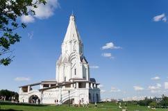Kerk in Kolomenskoe royalty-vrije stock foto