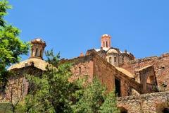 Kerk in koloniale Zacatecas, Mexico stock foto