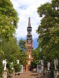 Kerk in Korstmos Stock Afbeeldingen