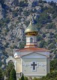 Kerk in Krimbergen. royalty-vrije stock foto's