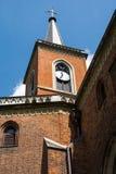 Kerk in Krzeszowice (Polen) Stock Fotografie