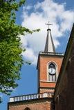 Kerk in Krzeszowice (Polen) Royalty-vrije Stock Foto