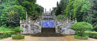 Kerk in Lamego, Portugal Royalty-vrije Stock Foto's