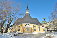 Kerk Lappee in Lappeenranta Royalty-vrije Stock Afbeeldingen