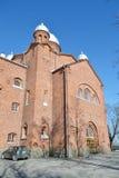 Kerk Lappeenranta Stock Afbeeldingen