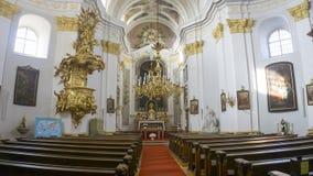 Kerk in Laxenburg dichtbij Wenen stock afbeeldingen