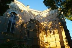 Kerk in Litouwse stad Royalty-vrije Stock Afbeeldingen