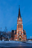 Kerk in Lulea Stock Foto