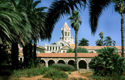 Kerk in Madera Royalty-vrije Stock Afbeeldingen