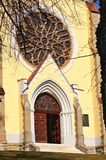 Kerk in Marian Mount stock foto