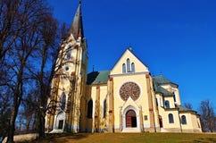Kerk in Marian Mount stock afbeelding