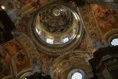Kerk in Melk, Oostenrijk Royalty-vrije Stock Foto