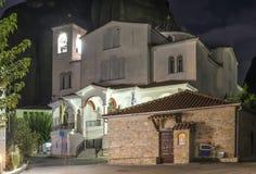 Kerk in Meteora Stock Afbeeldingen