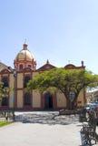 Kerk in Mexico Stock Afbeelding