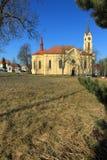 Kerk in Milevsko Royalty-vrije Stock Foto's