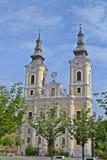 Kerk in Miskolc Royalty-vrije Stock Afbeeldingen