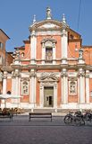 Kerk in Modena Stock Fotografie