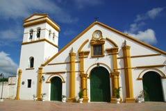 Kerk in Mompos, Colombia Royalty-vrije Stock Afbeeldingen