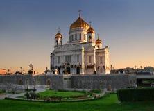 Kerk in Moskou, Rusland Stock Foto
