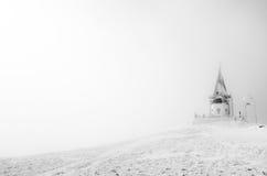Kerk Mountain View royalty-vrije stock afbeeldingen