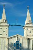 Kerk in Nakornpanom Thailand Royalty-vrije Stock Afbeelding