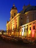 Kerk in Neuburg op de Donau in Beieren Royalty-vrije Stock Afbeelding