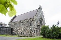 Kerk Noorwegen Stock Afbeeldingen
