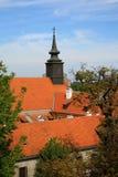 Kerk in Novi Sad Royalty-vrije Stock Afbeeldingen