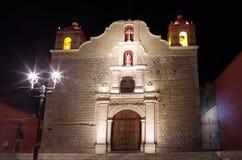 Kerk in Oaxaca royalty-vrije stock fotografie