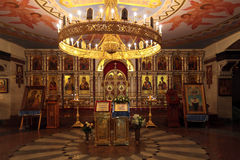Kerk op Bloed in Eer Stock Afbeelding