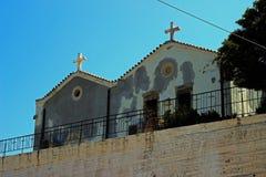 Kerk op de Heuvel Stock Foto's