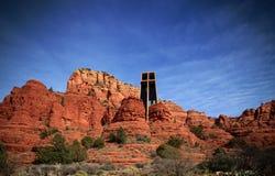 Kerk op een heuvel royalty-vrije stock foto's