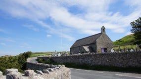 Kerk op Grote Orme Stock Foto