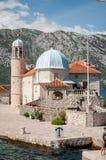Kerk op het eiland Stock Fotografie