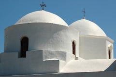Kerk op het Eiland Patmos Royalty-vrije Stock Afbeelding